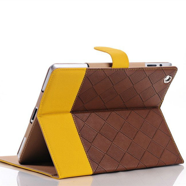 Smart Stand Cover PU Leather Case For apple iPad 2 3 4 Magnetic Wake up Sleep Anti-Skidding Pouch for the new ipad3 ipad4 Retina hot sale high quality flip pu leather case for apple ipad mini 1 2 3 with retina smart stand sleep wake up pouch cover