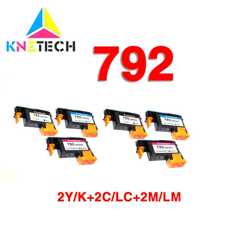 6x for hp789 Printhead for hp 789 DesignJet L25500 CH612A CH613A CH614A