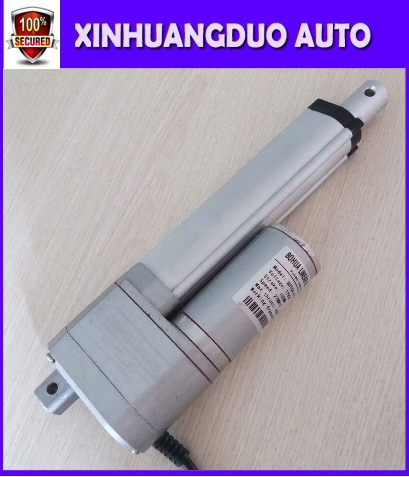 100mm12V 24V 2 inch stroke 1500N 150KG load Customized stroke linear actuator Linear motor potentiometer