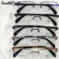 Meio Frame óculos de titânio óculos de Alike confortável cinco cores óculos óculos de vista de mujer 5818