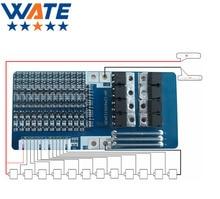 12 s защиты литиевая батарея доска 21a рабочий ток 50.4 В литиевая батарея защитная пластина с сбалансированную защиту