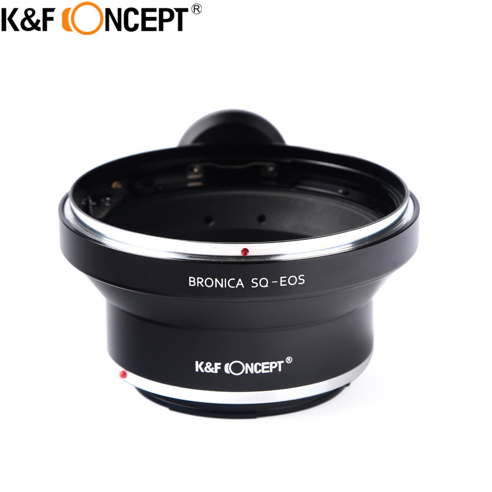 K F CONCEPT for Bronica SQ EOS Camera Lens Adapter Ring with Tripod For Bronica SQ