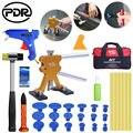 PDR Gummi Hammer Kleber Pistole Kleber Sticks Dent Lifter Auto Körper Paintless Dent Entfernung Werkzeuge-in Handwerkzeug-Sets aus Werkzeug bei