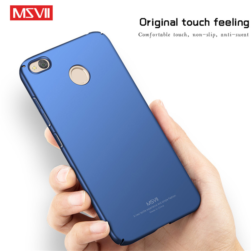 Xiaomi Redmi Note 5A Pro Case Cover Luxury Silm Scrub Hard PC Back Cover For Xiaomi Redmi Note5A Case Full Protector Phone Coque in Fitted Cases from Cellphones Telecommunications