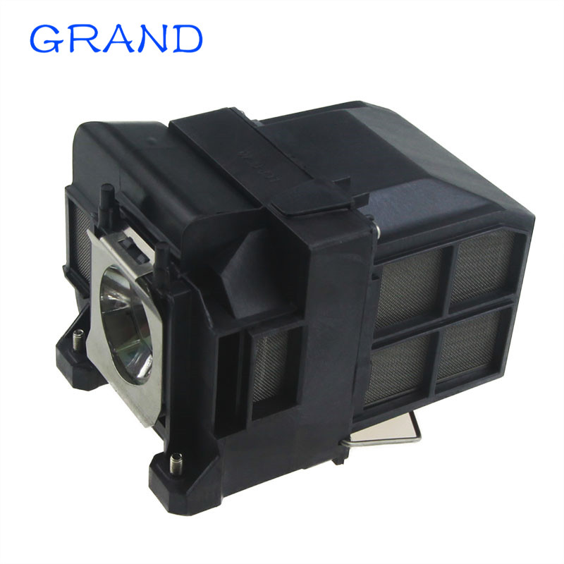 Compatible projector lamp ELPLP77 for EPSON PowerLite 4650 4750W 4855WU G5910 EB-4550 EB-4750W EB-4850WU with housing HAPPY BATE