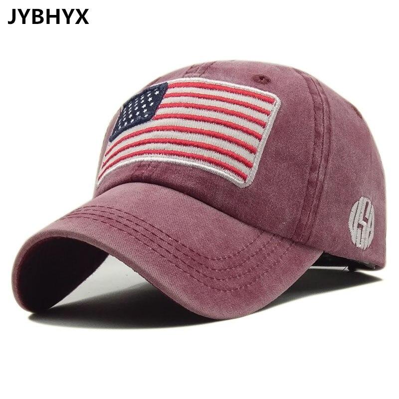 JYBHYX fashion Baseball Cap men's Snapback Hats For women Hip hop Gorras bone Embroidered National flag Hat Caps 5046