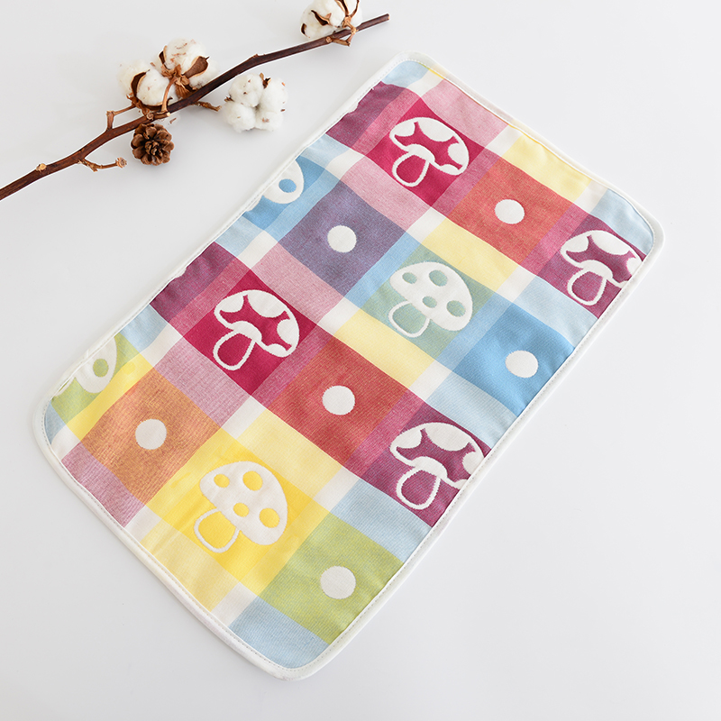30cm50cm new arrive baby towel long 6 layers gauze baby cartoon towel cotton for children QD17 ...
