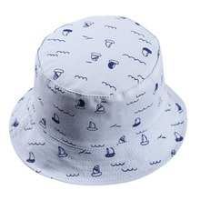Spring Baby Girls Boys Star Butcket Hats AB Side 100% Cotton