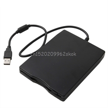 Портативный дисковод гибких дисков 1,44 МБ 3,5 «USB внешний дискете FDD для ноутбука OE # H029 #