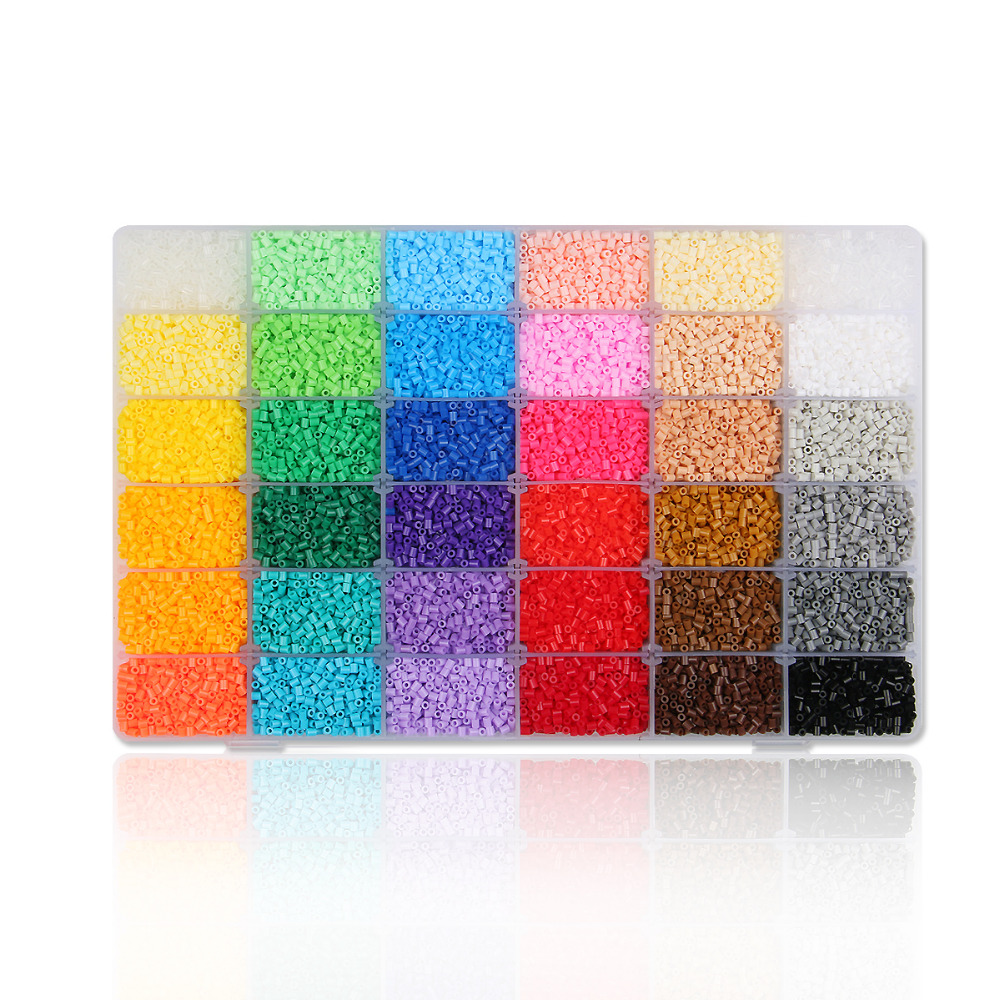 36 Color Artkal Beads Exclusive Soft Beads Box Set Perler A-2.6mm Mini Beads Educational toys CA36