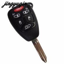 Jingyuqin(5+ 1) 6 кнопок дистанционного ключа автомобиля крышка чехла брелок-кармашек для Chrysler Town& Country Grand Caravan Sebring Dodge джип на пульте управления с Pad