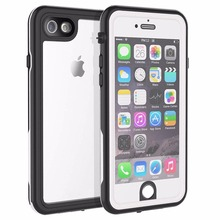 Redpepper For iPhone 6 6S Waterproof case 360 full-body plastic Shockproof Dirtproof for With Touch  ID Case Cover