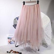 abaa1c5c518d7d Pink Tulle Skirt Midi Length-Achetez des lots à Petit Prix Pink ...