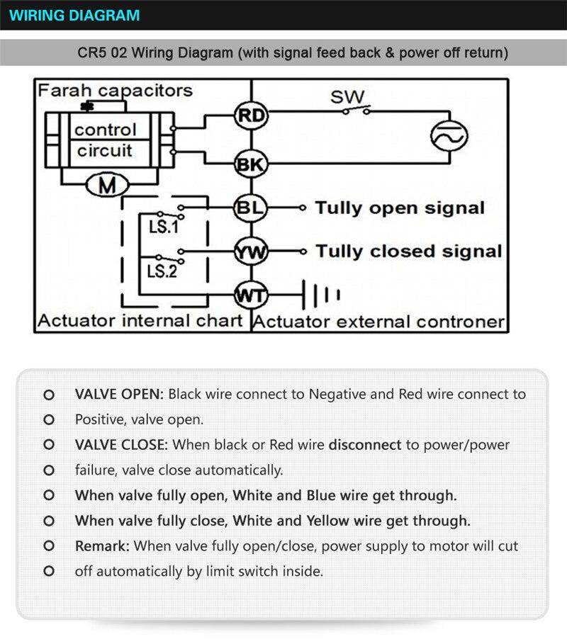 AC110 230V Power Off Return Valve 3 Way L/T Type BSP/NPT 1/2'' Stainless Steel Electric Shut Off Water Valve 10Nm - 6