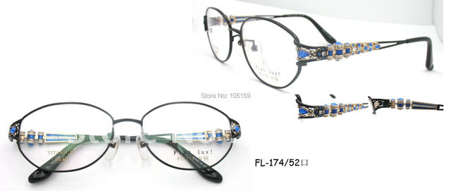 0cae64584 Brand Luxury glasses,Japan Original titanium optical frames,famous  design,good quality,