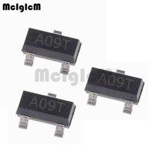 MCIGICM AO3400A 100 pièces n channel 30V 5.7A (Ta) 1.4W (Ta) transistor mosfet SMD SOT 23 SOT 23 3L à montage en Surface AO3400