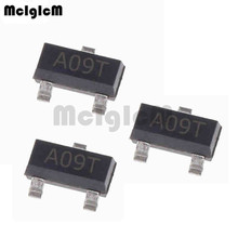 MCIGICM AO3400A 100pcs N Channel 30V 5.7A (Ta) 1.4W (Ta)  SMD mosfet transistor SOT 23 Surface Mount SOT 23 3L AO3400