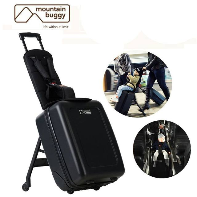 b80538a29bf5 Online Shop Baby s Carry-on s Riding Trolley Travel Suitcase.kids ...