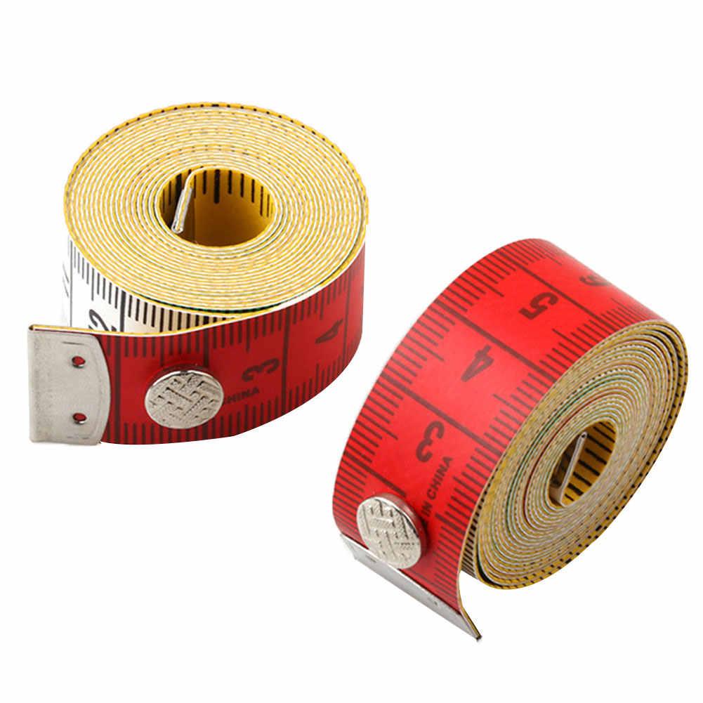新 1.5 メートル/60 インチのフラット測定定規ソフトテープテーラー布縫製ツール