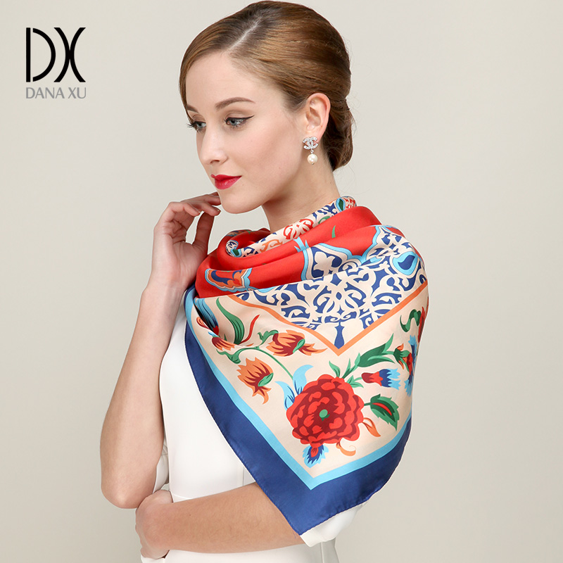New Women Bandana Soft Long Shawl silk   Scarf     Wrap   For Girls   Scarves   And Winter Luxury Brand Hijab face Shield Beach Blanket