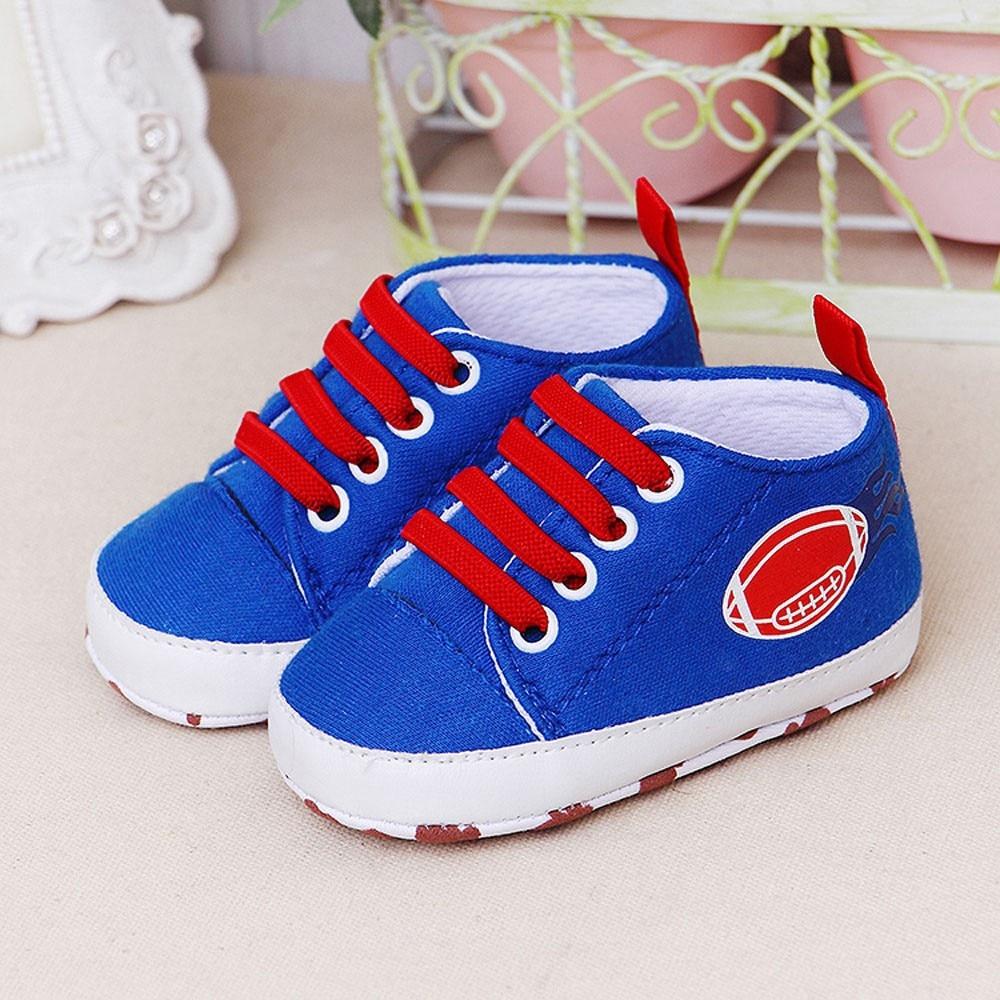 Newborn Baby Shoes Infant First Walkers Baby Cartoon Girls Boys Soft Prewalker Casual Flats Shoes Spor Ayakkabı1.762