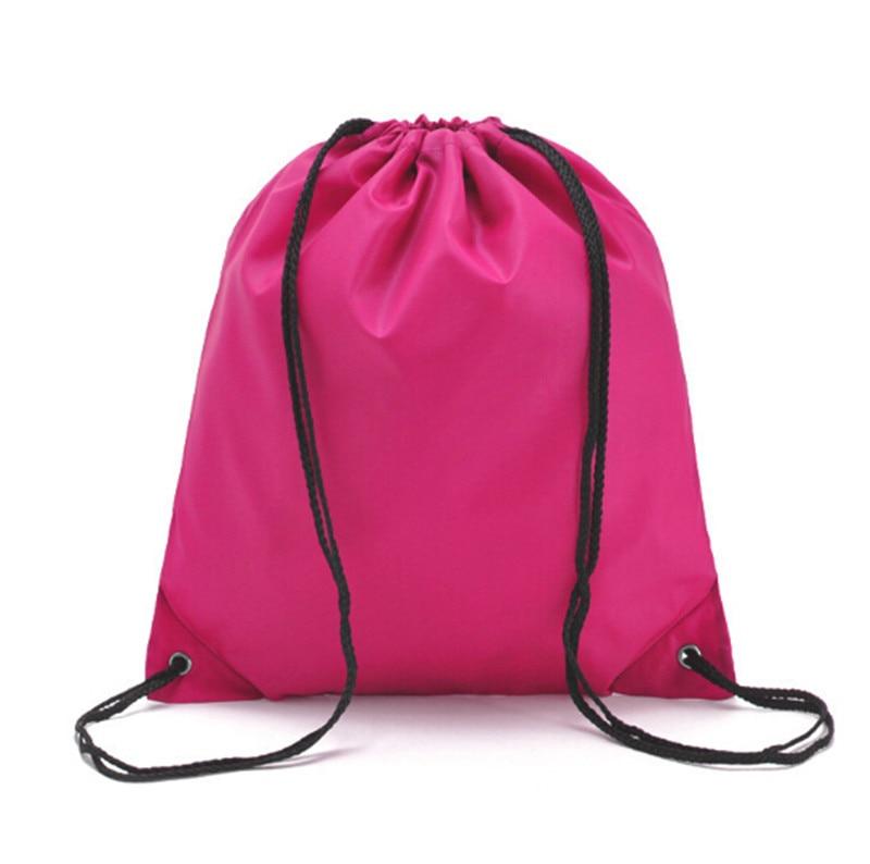 Drawstring Bag Sports Backpack Bundle Pocket Packpacks For Teenagers School Shoulder Bag Travel Storage Pouch W3
