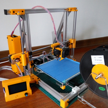 3D printer high precision 3D printer DIY KIT + LCD monitor + assemble tools + Plastic filament holder + 1KG filament