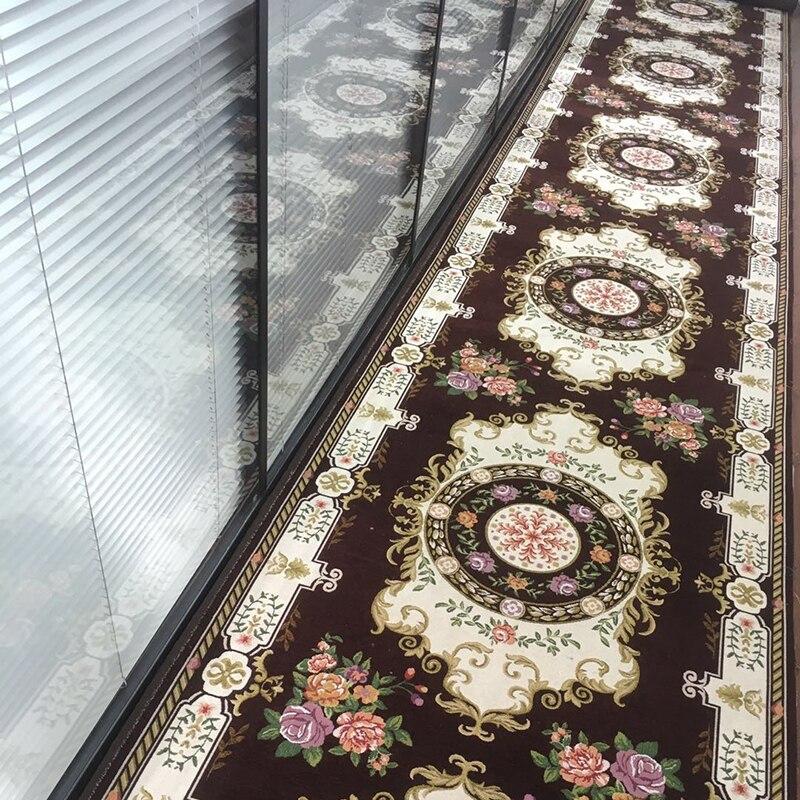 Tapis imprimés nordiques 3D pour les tapis de Table de thé tapis antidérapants de salle de bains tapis de cuisine