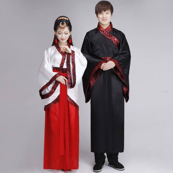 652d636079d Women Man Hanfu Cloak Suit Chinese Traditional Folk Dress Ancient Male  Hanfu Costume Traditional Chinese Clothing For Men