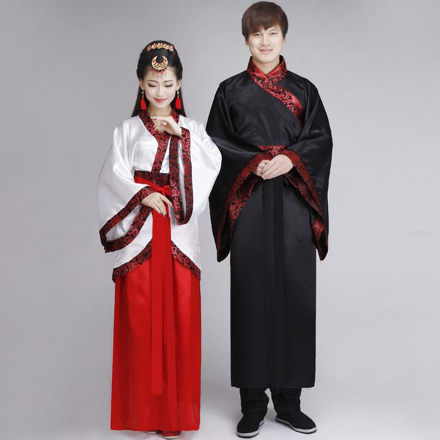 Aliexpress.com : Buy Women Man Hanfu Cloak Suit Chinese ...