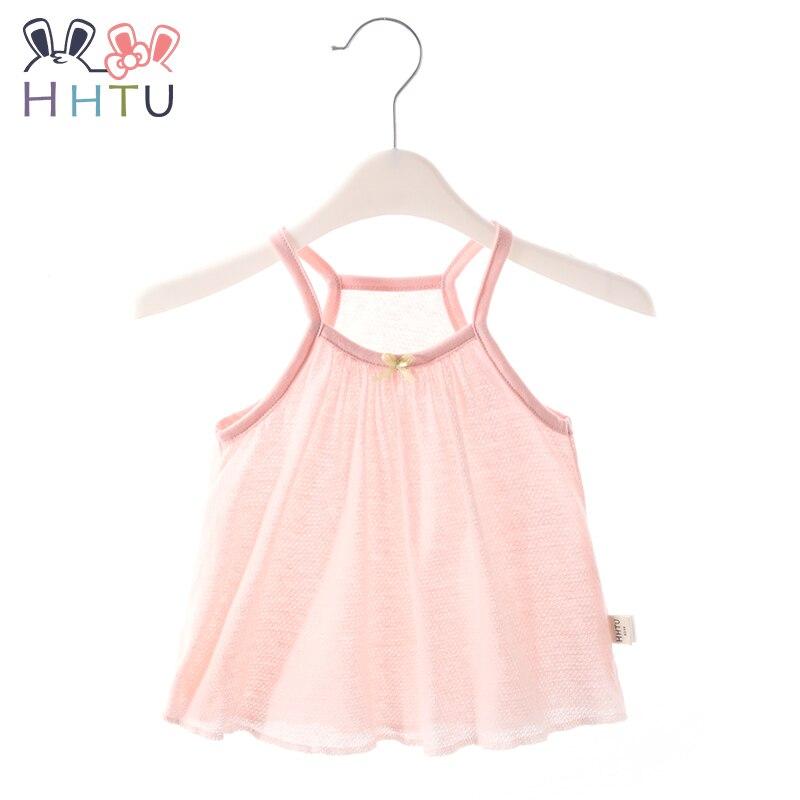 100% QualitäT Hhtu 2019 Sommer Mädchen Baby Weste Gurt T-shirt Tops Baumwolle Sleeveless Beiläufige Kleidung Infant Kid T-shirt Kinder Shirts Novel (In) Design;