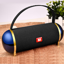 LIGE Portable Wireless Bluetooth Speaker Stereo Speakerphone Radio Music Subwoofer Column Speakers for Computer with TF FM+Box(China)