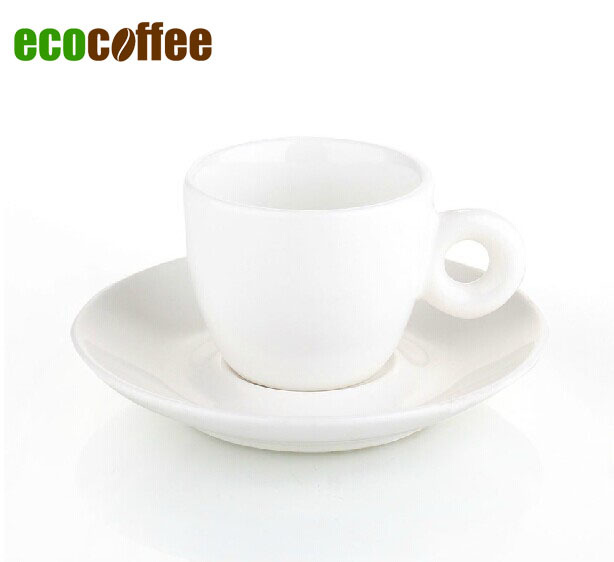 Purify <font><b>White</b></font> Free Shipping <font><b>Espresso</b></font> Coffee Cappuccino <font><b>Cups</b></font> Mugs 50ML