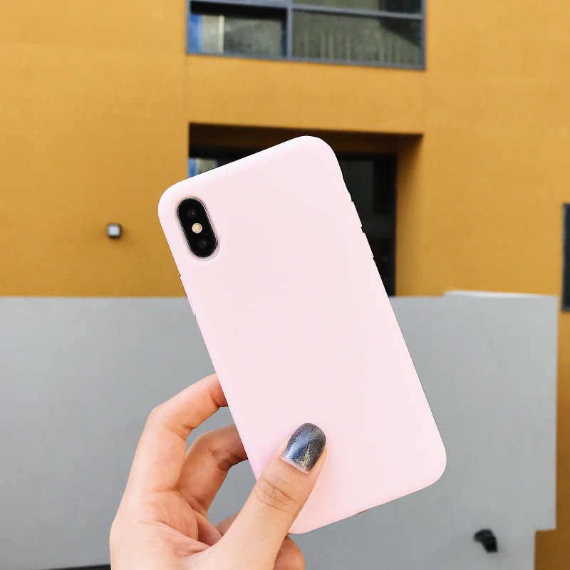 Soft TPU เคสโทรศัพท์สำหรับ Samsung Galaxy S10 Lite A7 A9 A6 A8 Plus J4 J6 J8 2018 s6 S7 Edge S8 S9 Plus J3 J5 J7 2017