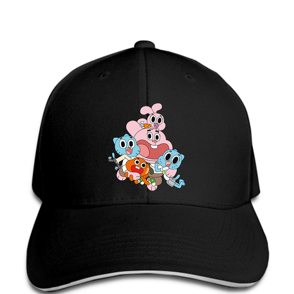 Baseball-Cap World-Of-Gumball Cheap Hat Tsnapback Novelty Fashion Women The For Funny