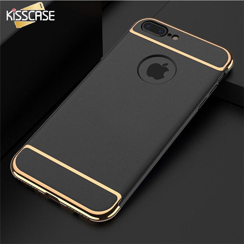 KISSCASE Luxury Case For font b iPhone b font 7 6 6s Plus 5 5s SE