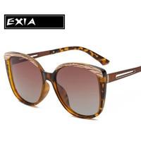 الاستقطاب النظارات للنساء أزياء النظارات شعبية exia KD-0802 البصرية سلسلة