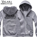 new 2017 free shipping trend Game of Thrones Valar Morghulis All Men Must Die man men male thickening sweatshirt Hoodie cardigan