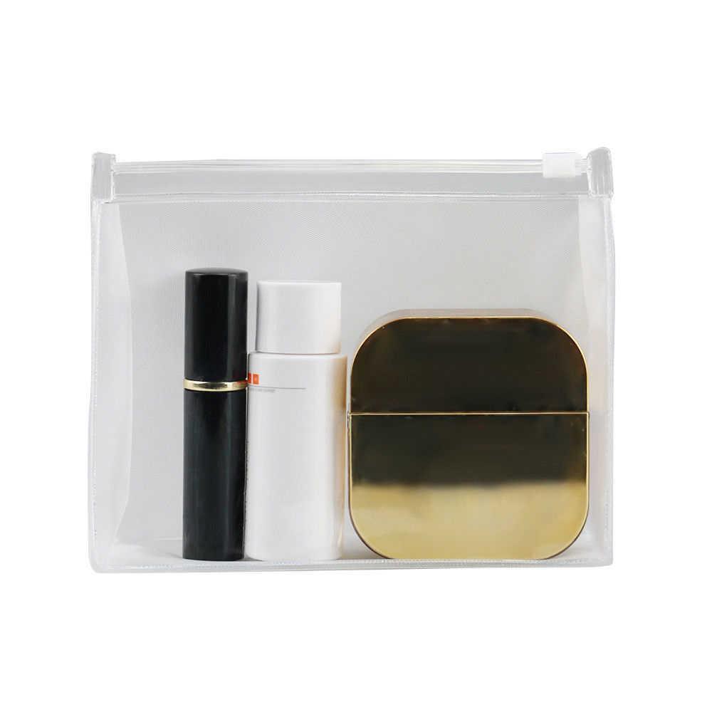 Reizen Draagbare PVC Transparante Waterdichte Cosmetische Tas Vrouwen Make-Up Toilettas Zakken Make Organizer Case