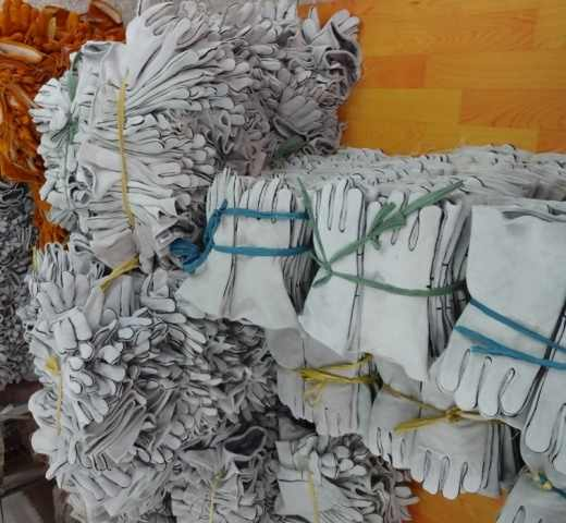 Lavoro Guanto di Saldatura di Cuoio Guanto di Saldatura TIG MIG Guanto di Lavoro Comfoflex Naturale di Bianco Split In Pelle di Mucca Guanto di Sicurezza
