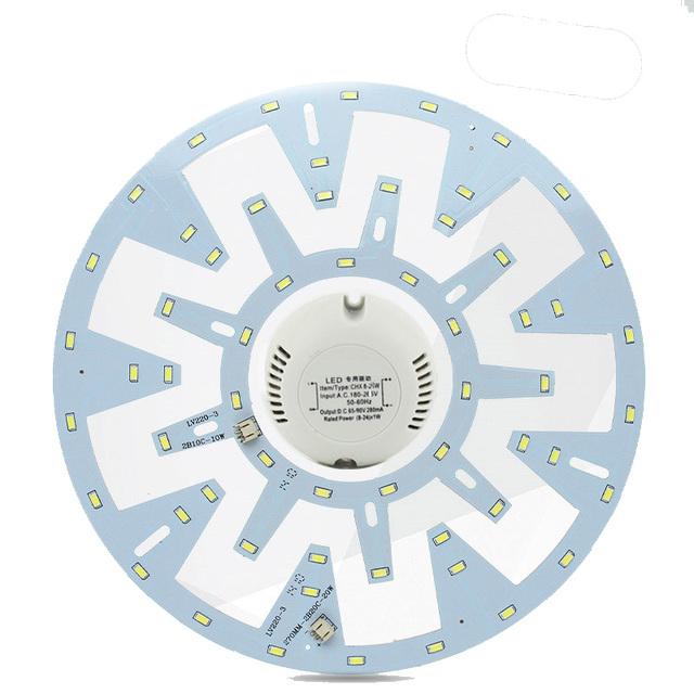 Luminária de teto LEVOU Anel Círculo Luzes Do Painel 10 W 15 W 20 W 24 W + 180 V-265 V Motorista SMD 5730 placa Do Teto da placa lâmpada circular