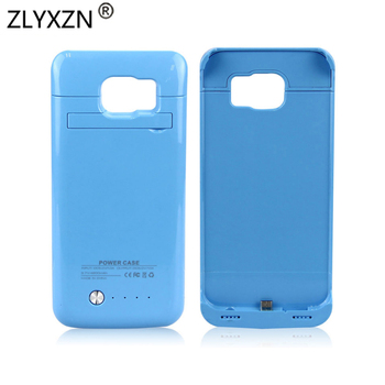 Battery Charger Cases For Galaxy S6 edge plus 4200mAh External Battery Charger Power Bank Pack Case Cover for S7edge 5200mah