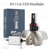 12 P7 H11 COB LED Car Headlight Bulbs 40W 3200LM 6000K High Power LED Headlights White Color Led Lamp 12V Kit