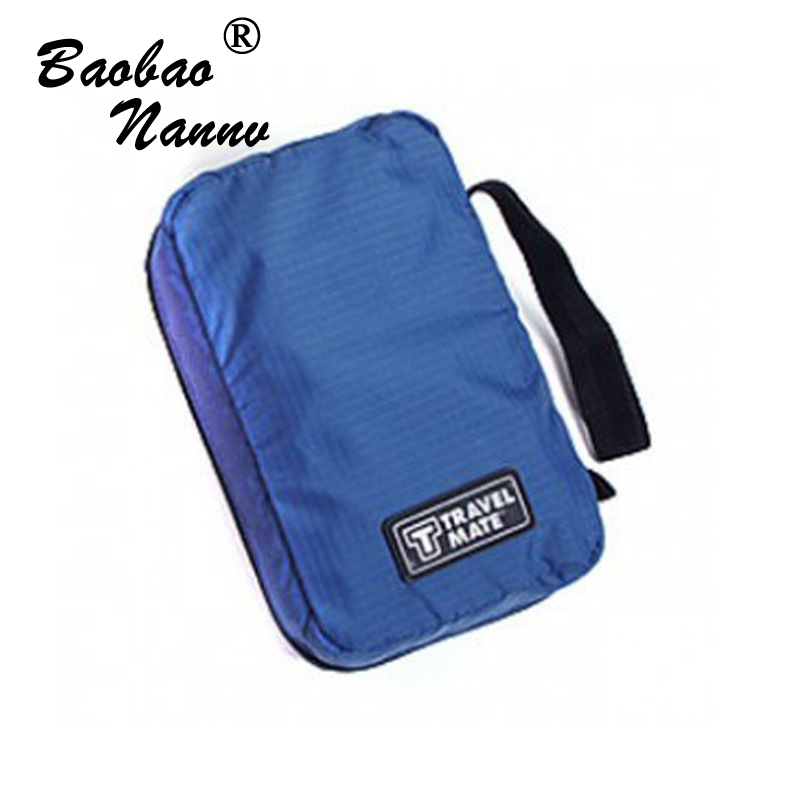 Travel Set Waterproof Portable Cosmetic Bag For Man Fahion Folding Toiletry Case Women Organizer Pouch Hanging Wash Bags 4 Color