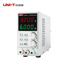 UNI-T UTP1306S Adjustable DC Power Supply Single AC 32V/6A 4Bits 220V input OVP(China)