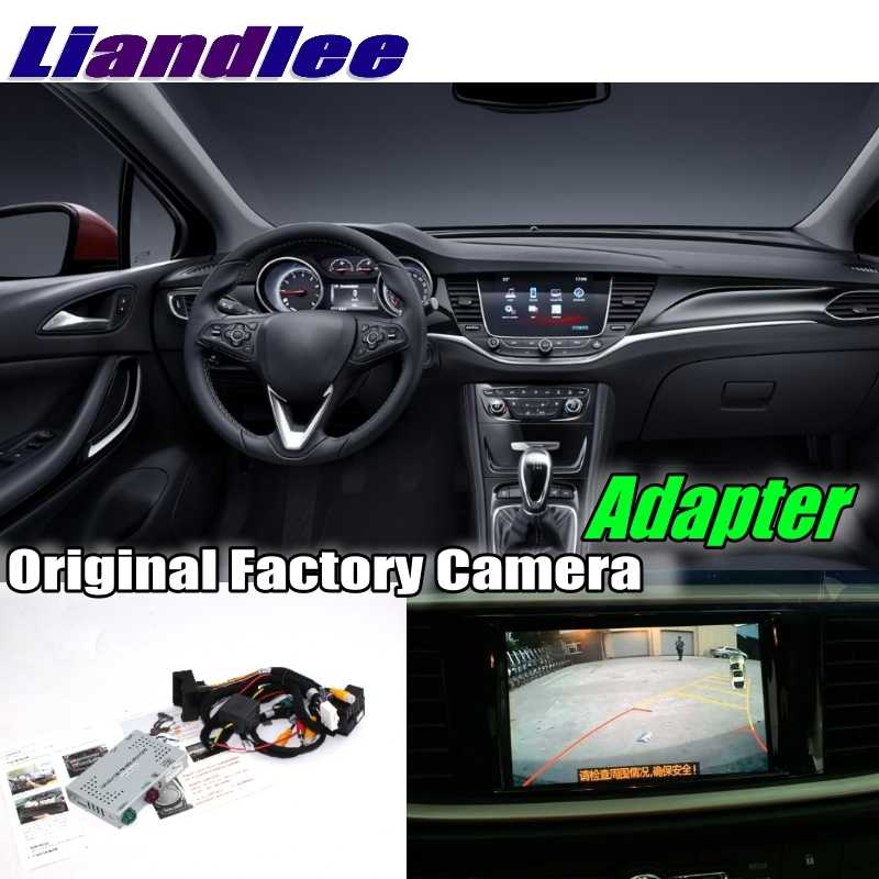 Liandlee Car Reverse Rear Back Up Camera Interface Adapter Decoder Kits For Holden For Opel Astra J K System Upgrade
