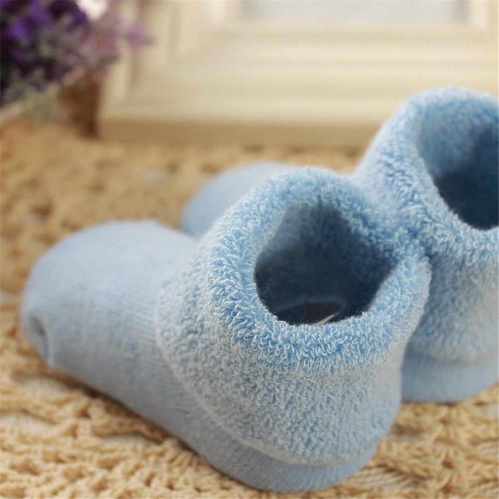 1 çift Bebek Kız Erkek Yumuşak Kış sıcak tutan çoraplar Yürümeye başlayan bebek Doğmuş Toddler Çizmeler Bebek Patik Ayakkabı 0-2 yıl