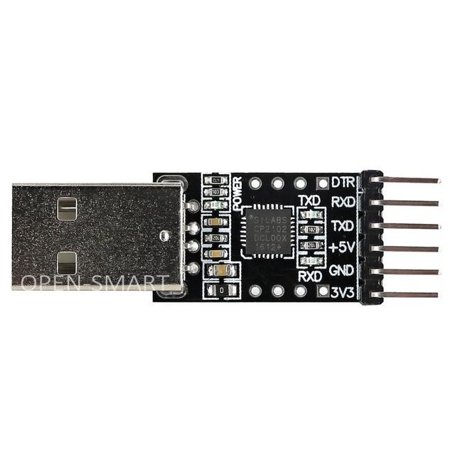 OPEN SMART CP2102 USB zu TTL Serielle Adapter Modul USB zu UART ...