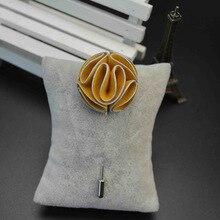 Very Unique 3D Floral Lapel Pin for the Men