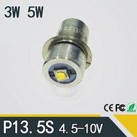 P13.5S 3 Вт светильник-вспышка лампа аварийный светильник 3 в dc4-10v/6-24 В Светодиодная лампа сменный фонарик